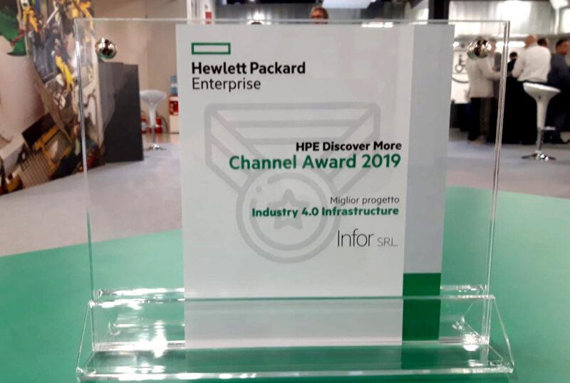 Infor riceve il premio come miglior progetto Industry 4.0 Infrastructure